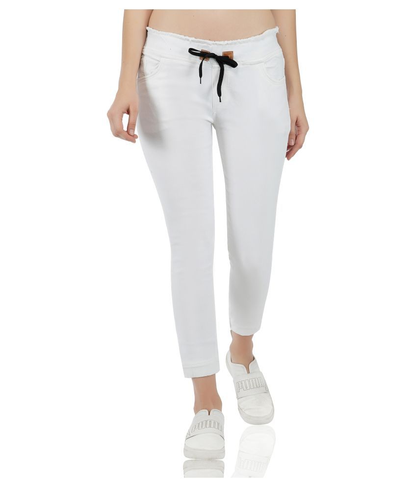Essence Denim Jeans - White