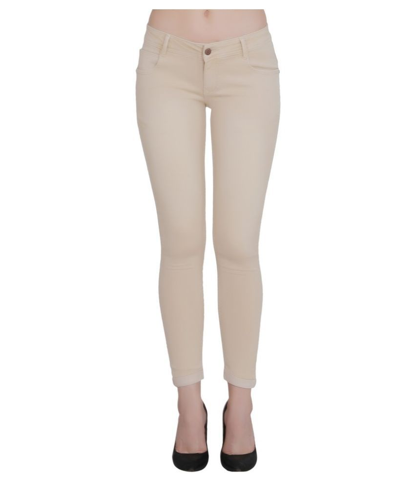 FORTH Denim Jeans - Beige