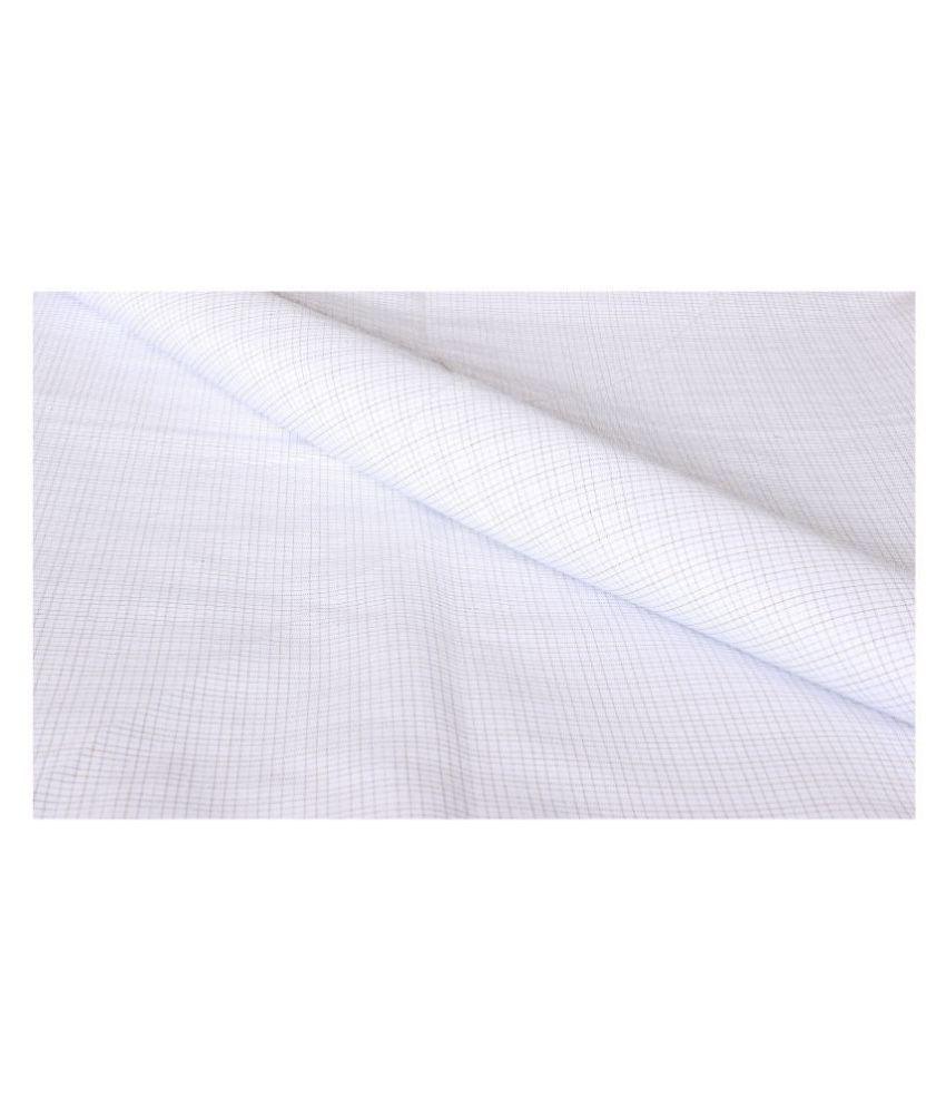 Makhanchor Multi 100 Percent Cotton Unstitched Shirt pc Single