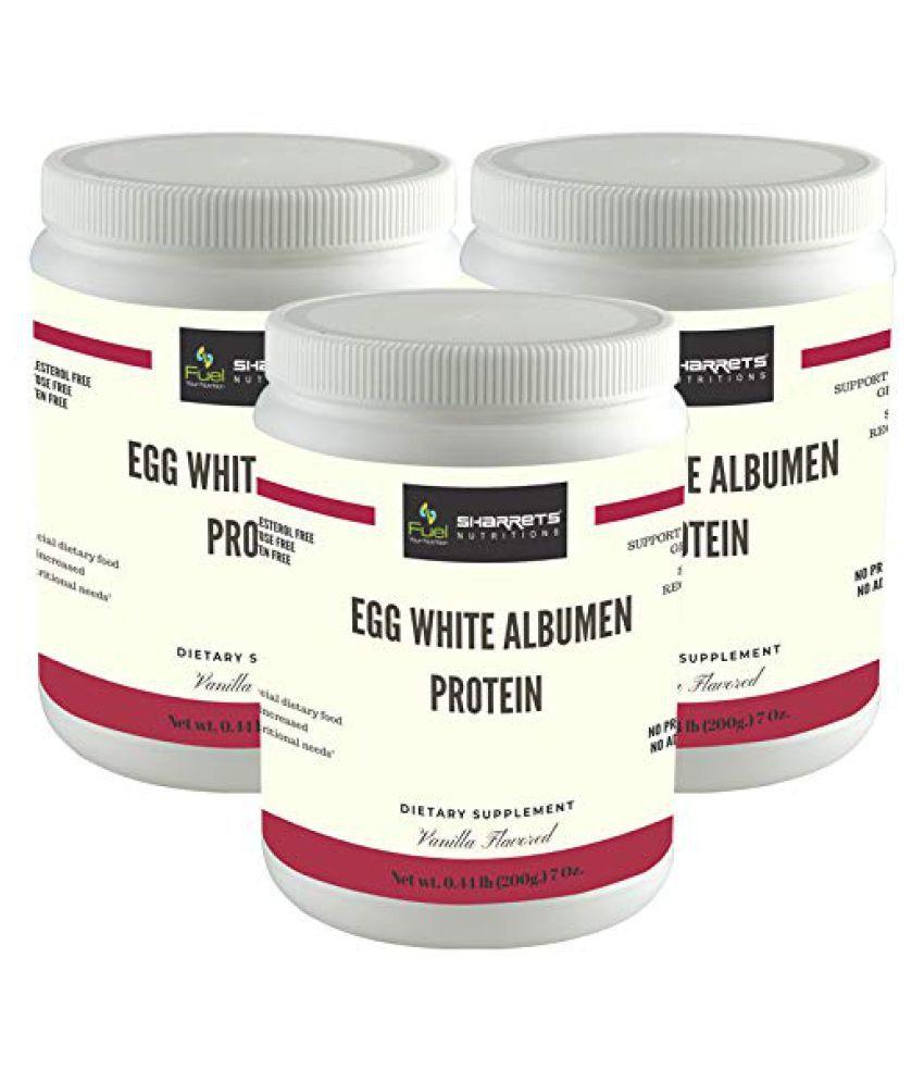 SHARRETS NUTRITIONS ALB-Egg White Albumen Powder 600 gm
