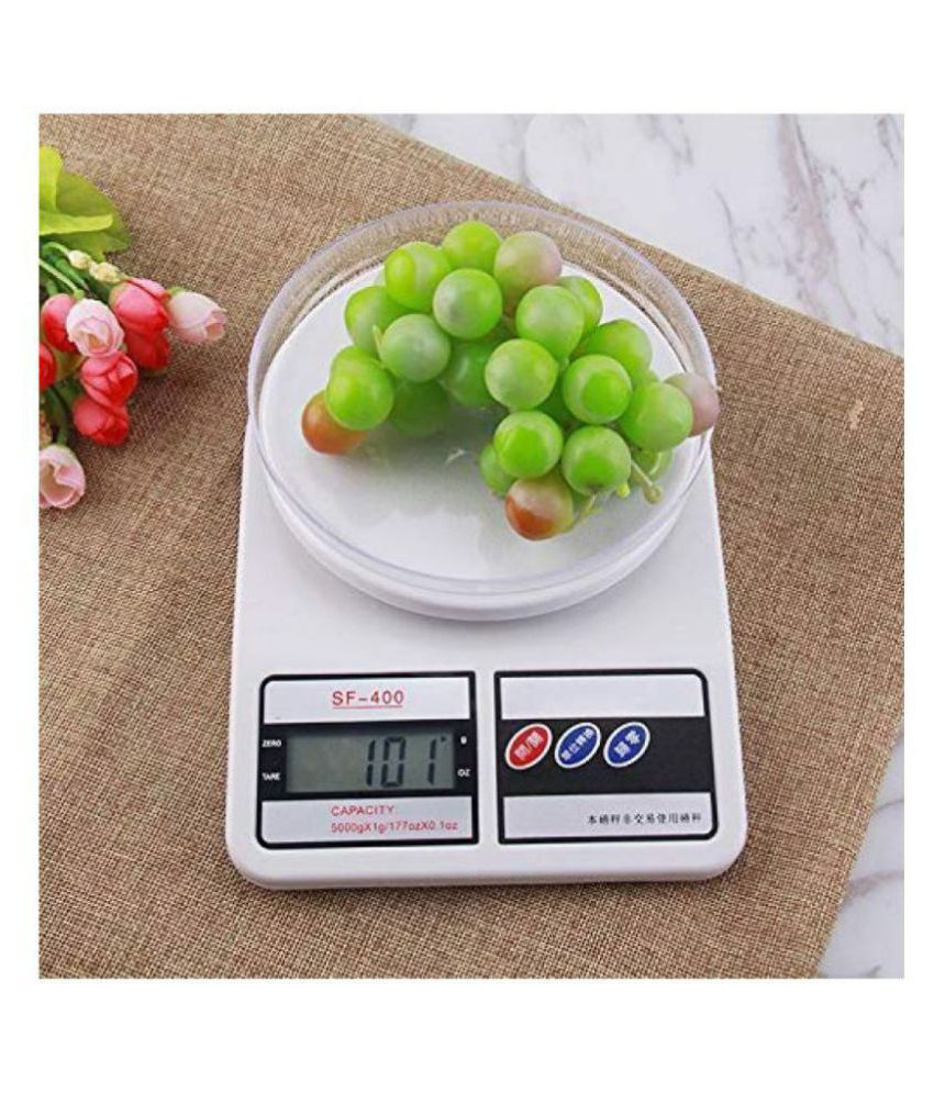 amruta 10 kg weight scale for kitchen Digital Kitchen Weighing Scales Weighing Digital Kitchen Weighing Scales Weighing Capacity - 10 Kg