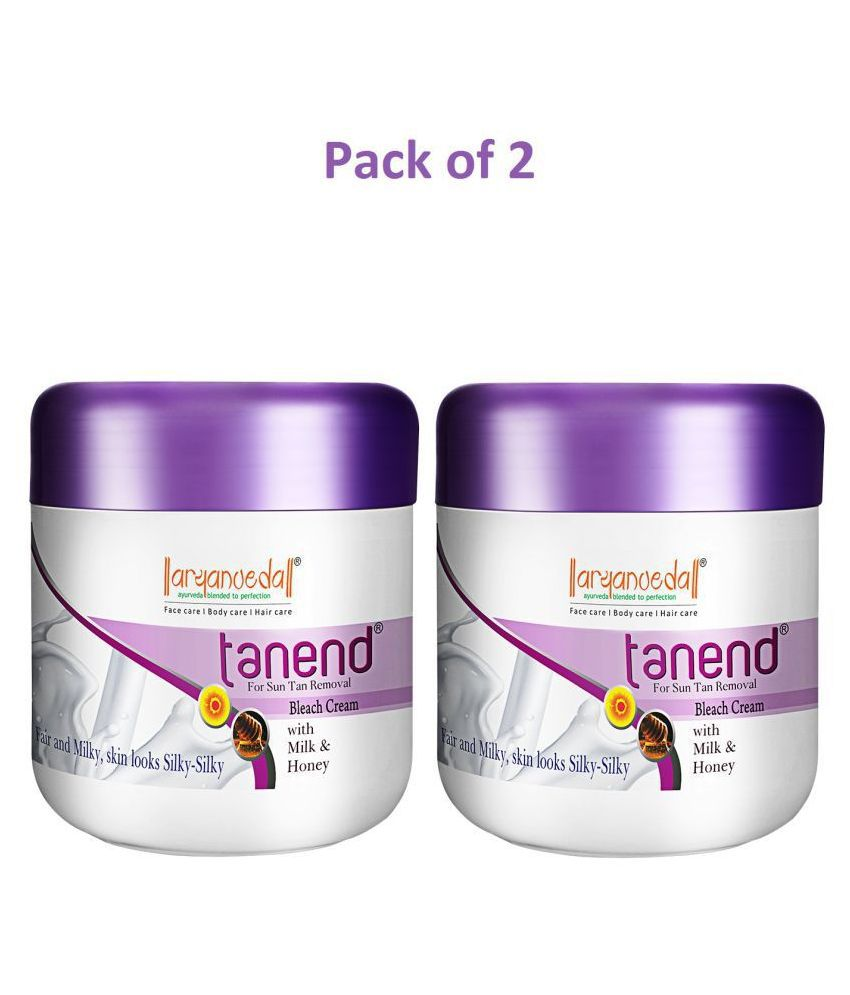 Aryanveda Tanend Face Bleach Day Cream 450 gm Pack of 2