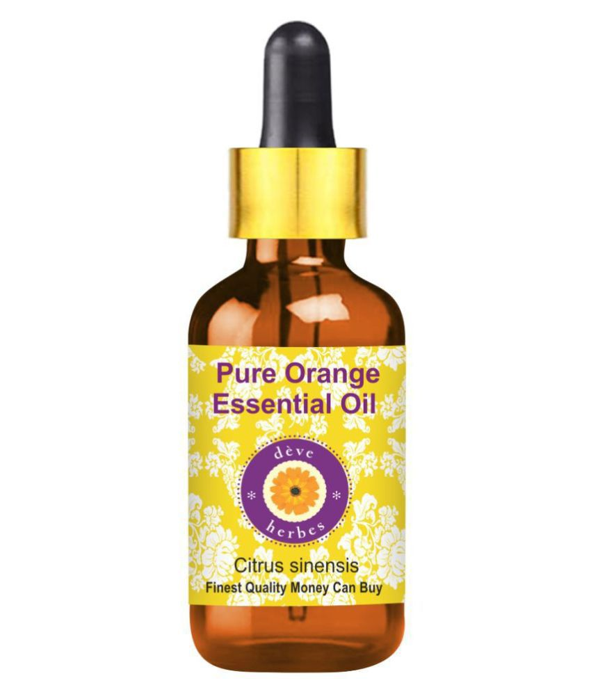Deve Herbes Pure Orange Essential Oil 15 mL