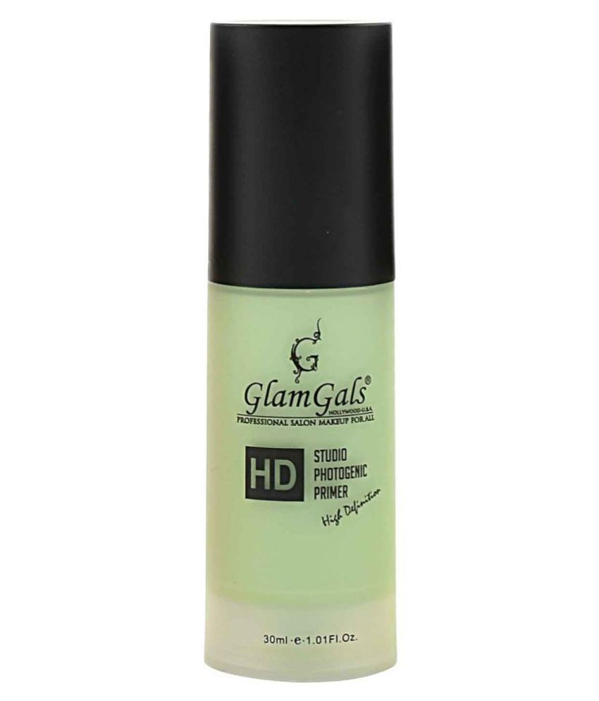 GlamGals HOLLYWOOD-U.S.A HD Green Face Primer Lotion 30 g