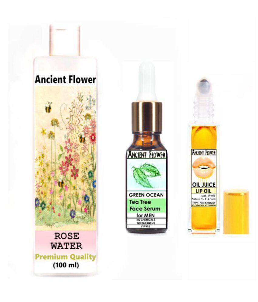 Ancient Flower - Rose water, Green Ocean, Oil Juice Lip Oil Face Serum 118 mL