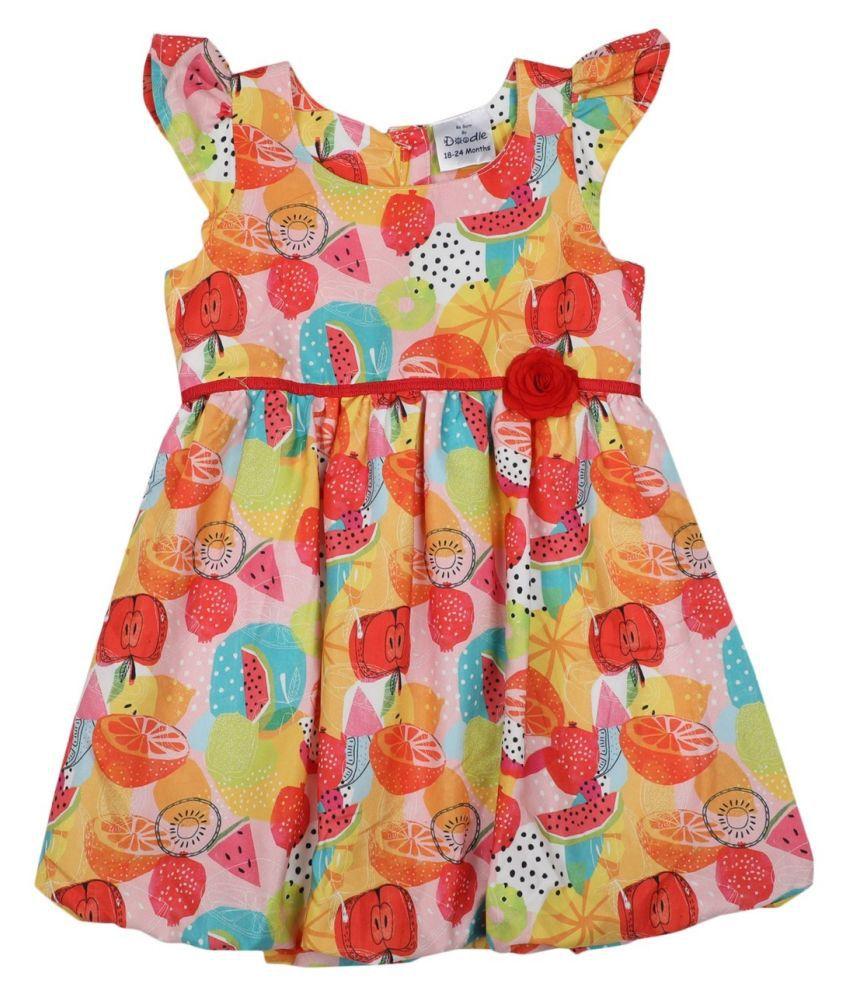 Balloon Satin Dress