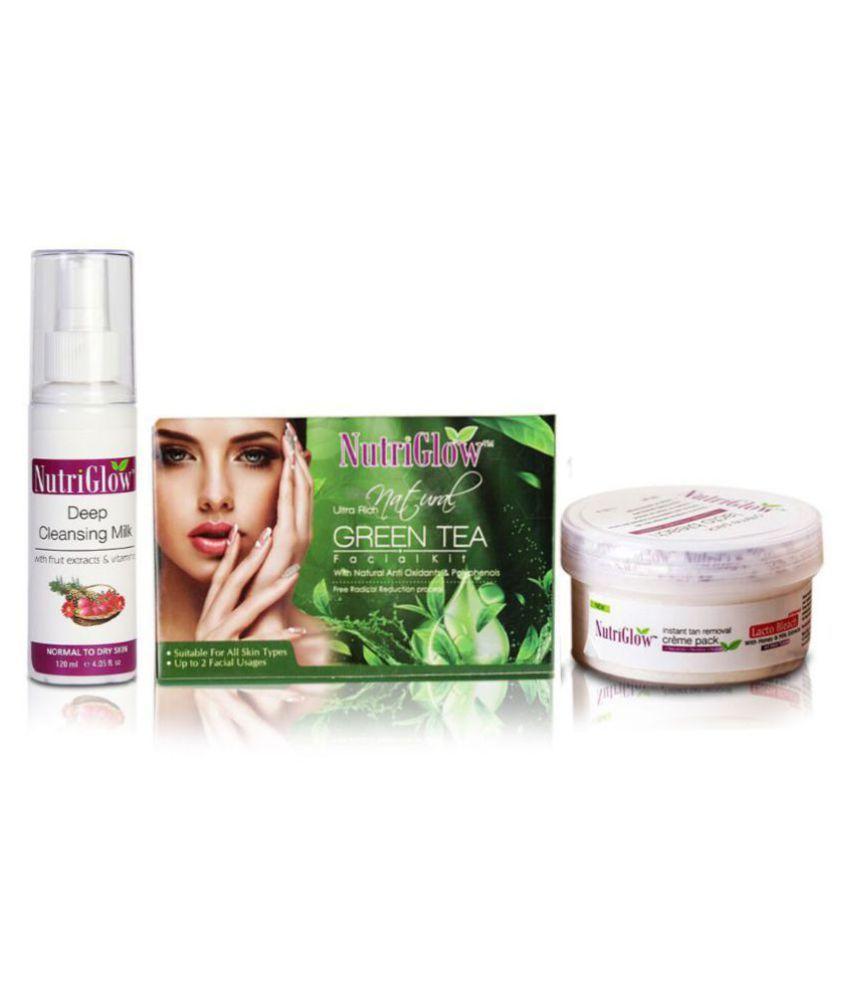 Nutriglow Facial Kit g Pack of 3