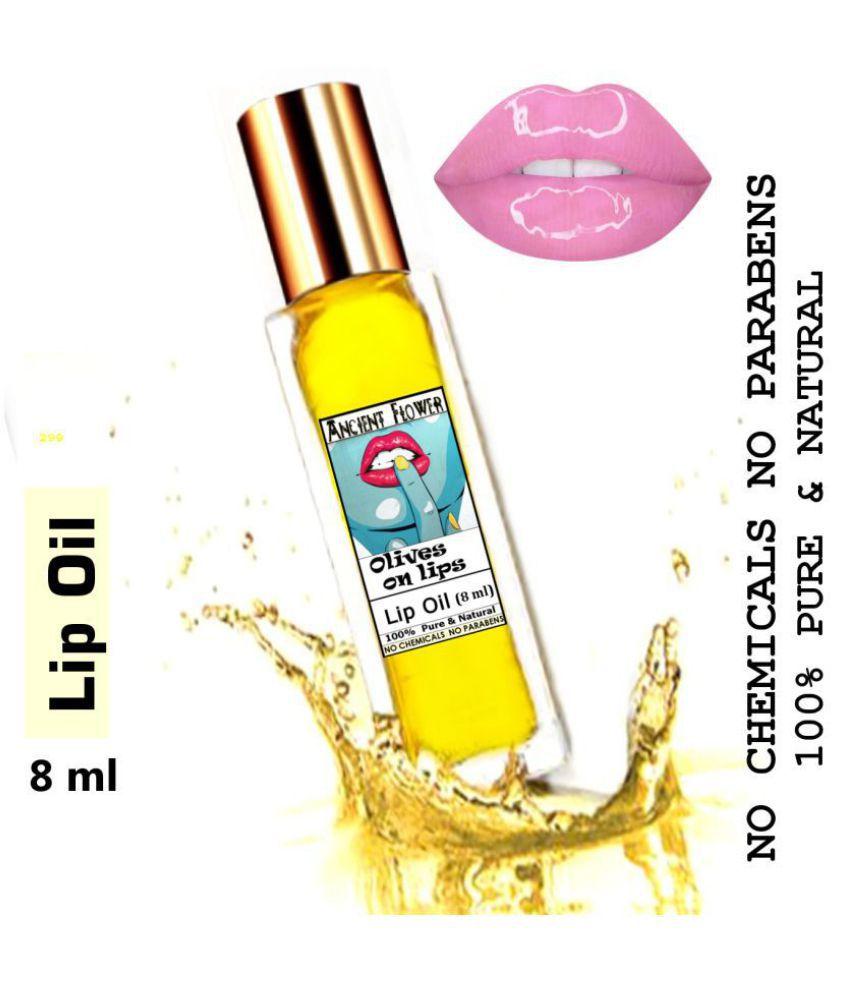 Ancient Flower - Olive on Lips - Lip Gloss Balm Yellow 8 mL