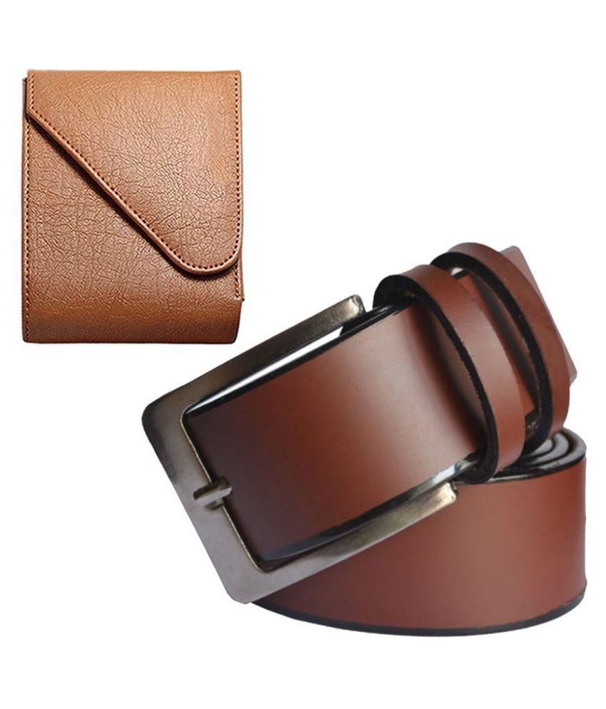 SUNSHOPPING Belts Wallets Set