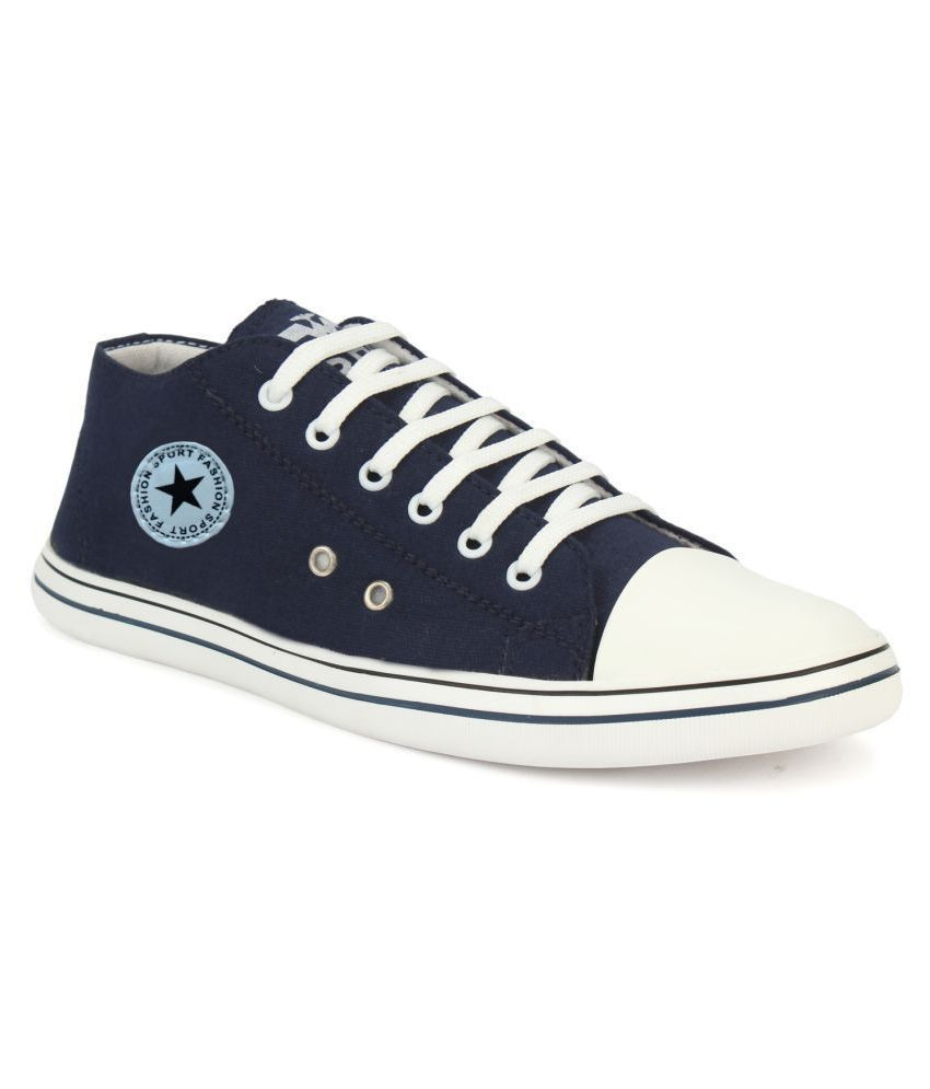 Fashion Victim Sneakers Blue Casual Shoes