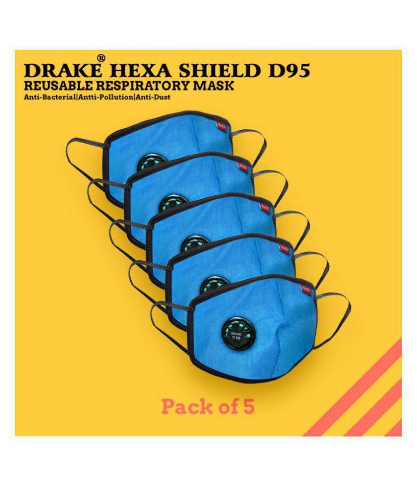 Drake D95 Reusable Respiratory Face Mask (5 pieces)