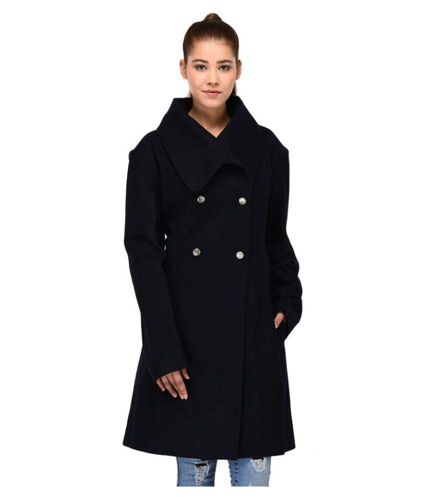 Owncraft Woollen Navy Over coats