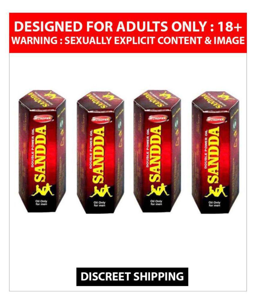 4 x 15 ml Double Power Sanda Oil For Men
