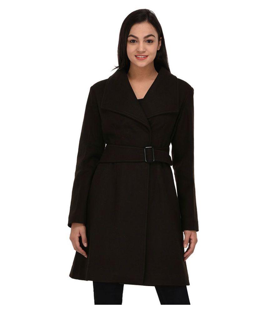 Owncraft Woollen Brown Over coats