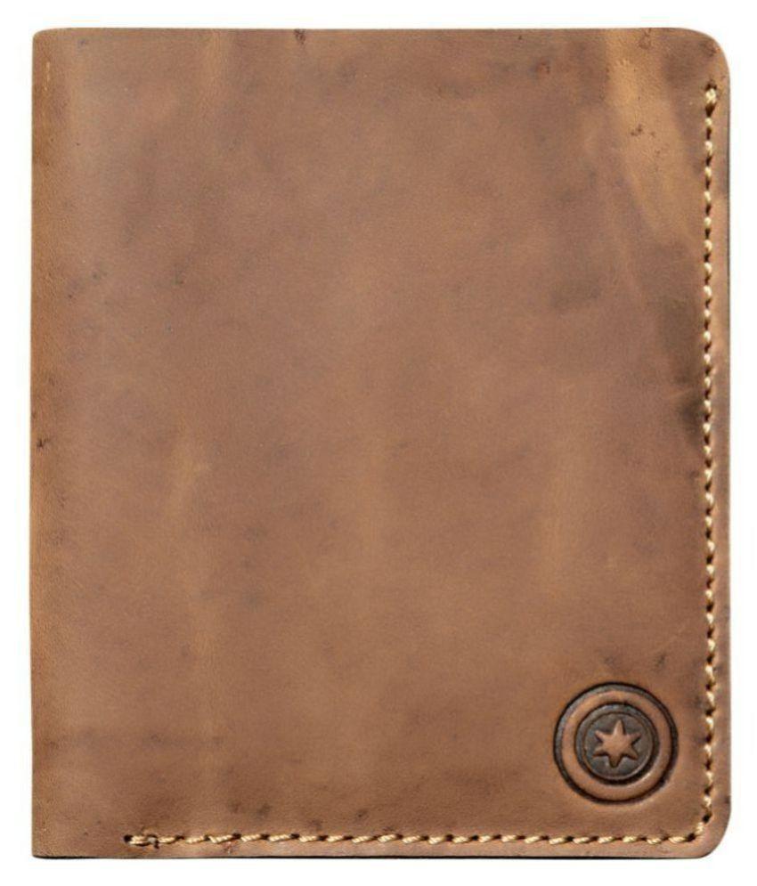 POLLSTAR Leather Tan Fashion Regular Wallet