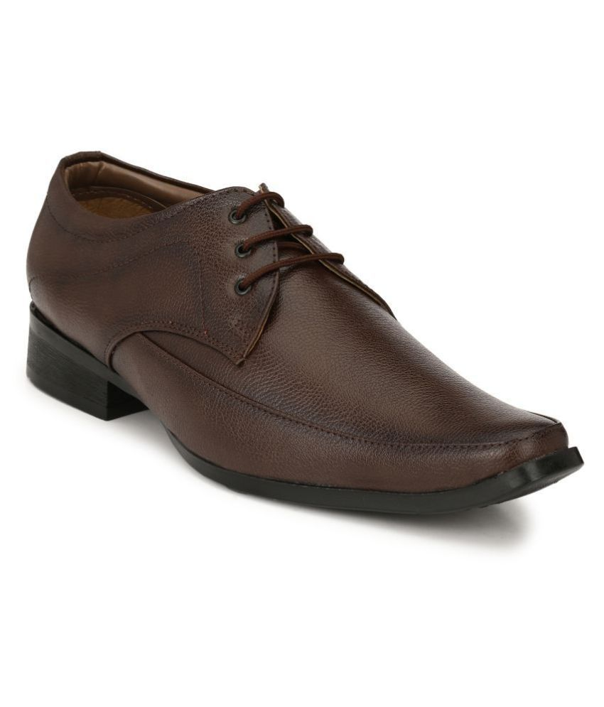 Sir Corbett Derby Tan Formal Shoes