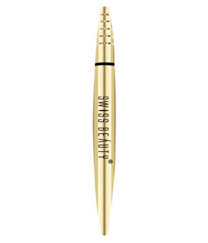 Swiss Beauty Pencil Eyeliner Black 3 mL