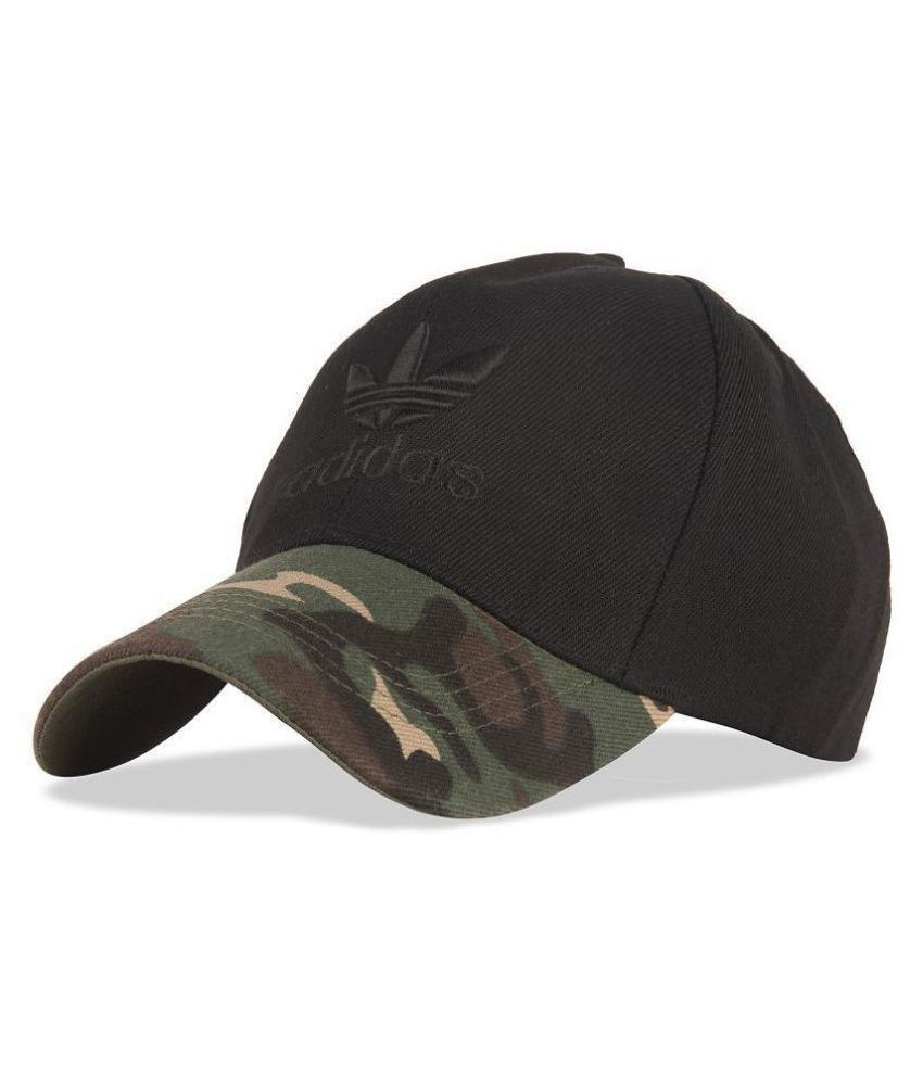 DRUNKEN Black Embroidered Acrylic Caps