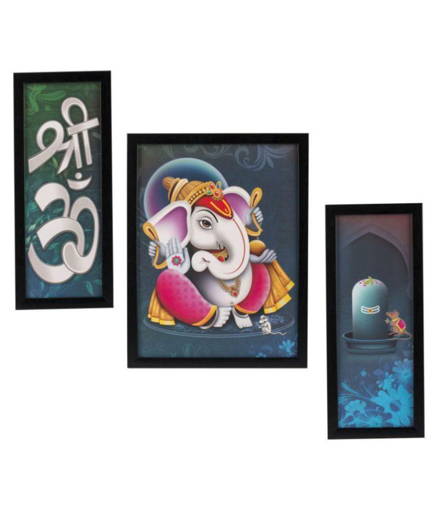Indianara Religious Synthetic Painting With Frame