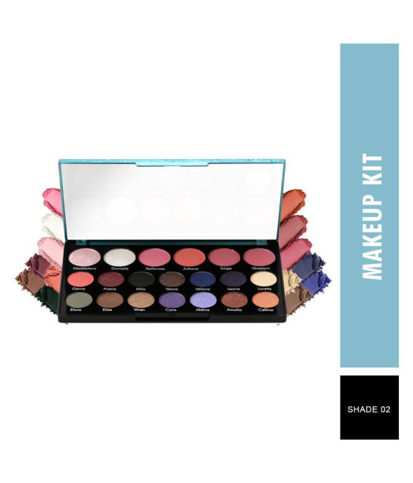 Swiss Beauty Bloom Cheek and Shadow Palette For Face, 18g
