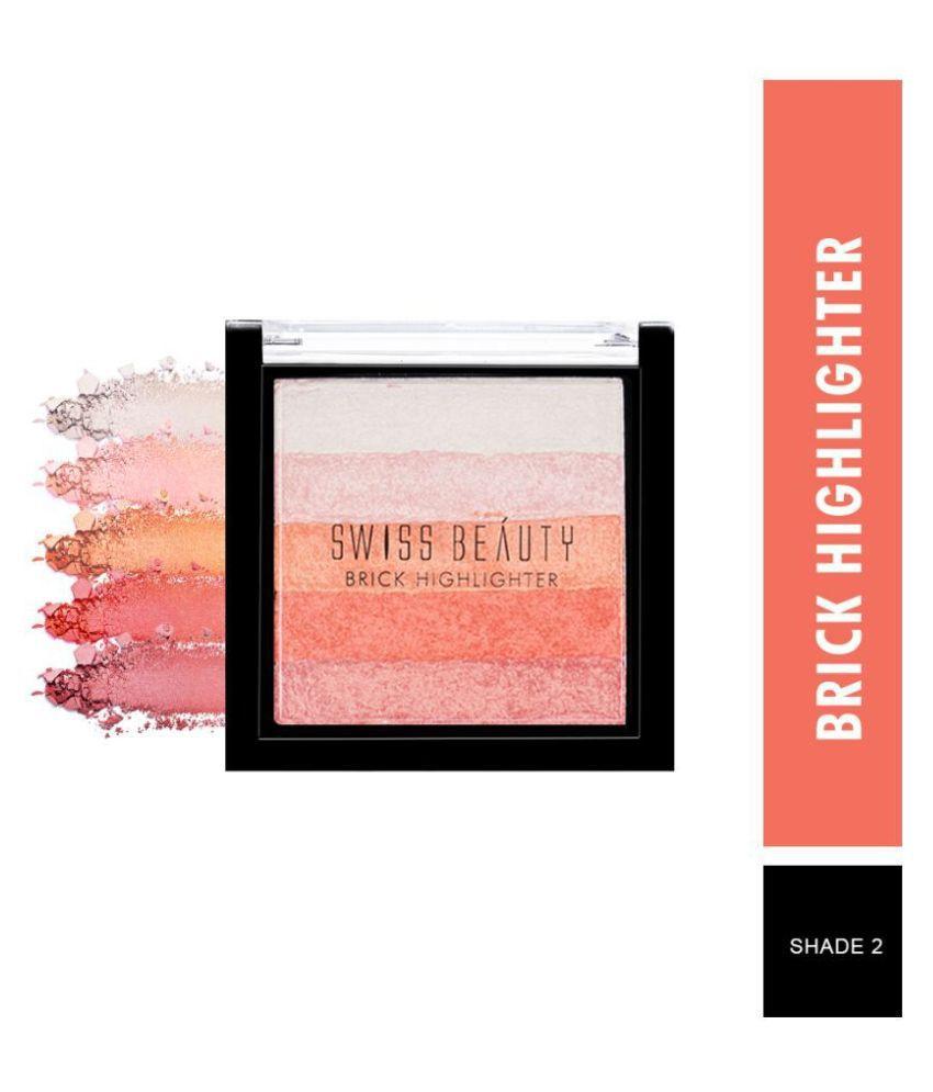 Swiss Beauty Brick Highlighter (Shade-02), 7gm