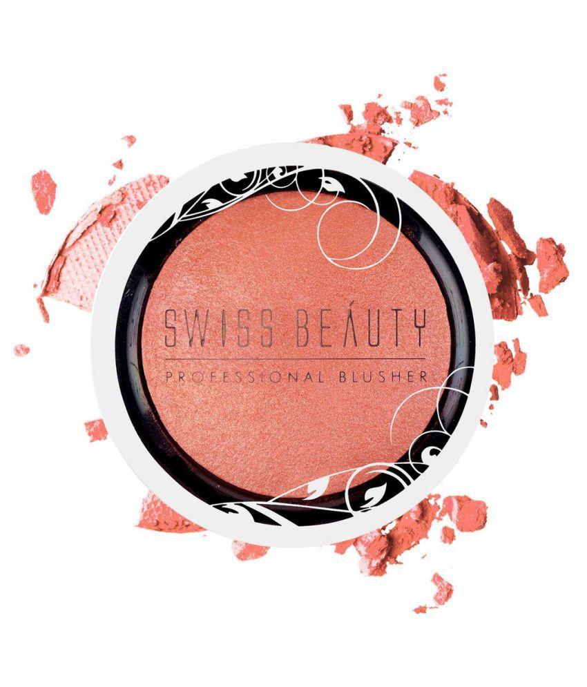 Swiss Beauty Professional Blusher  Shade Apricot peach , 6gm