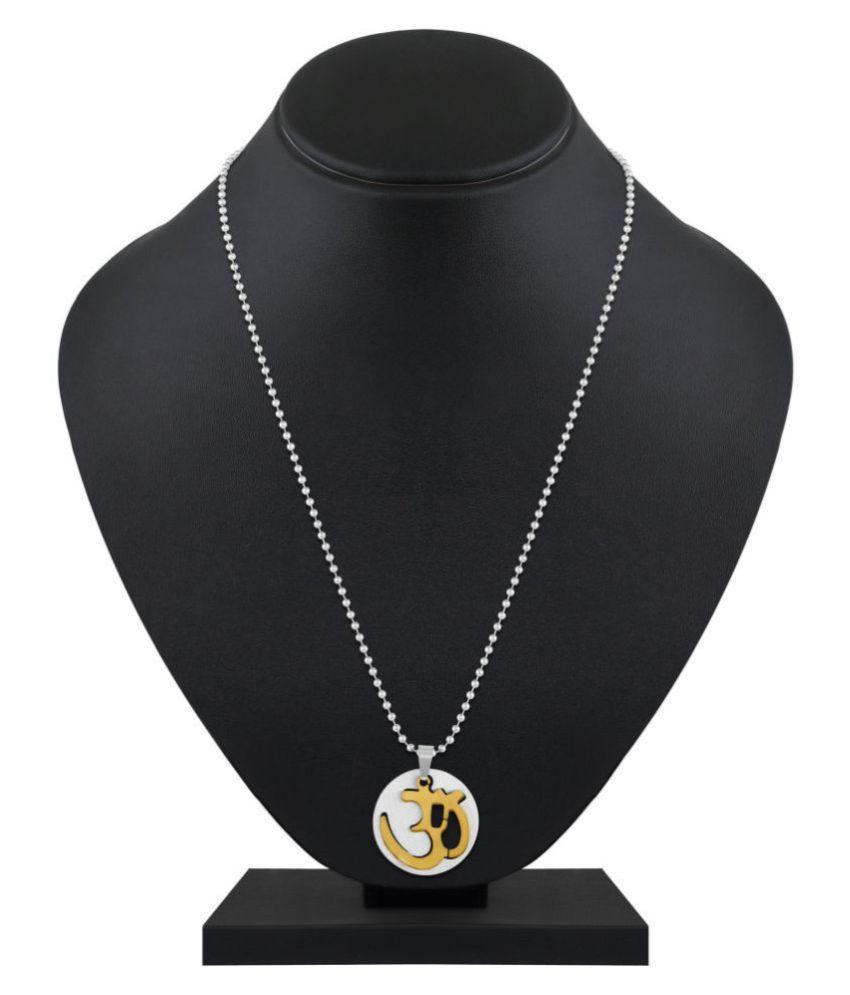 Asmitta Jewellery Multi Stainless Steel Pendants