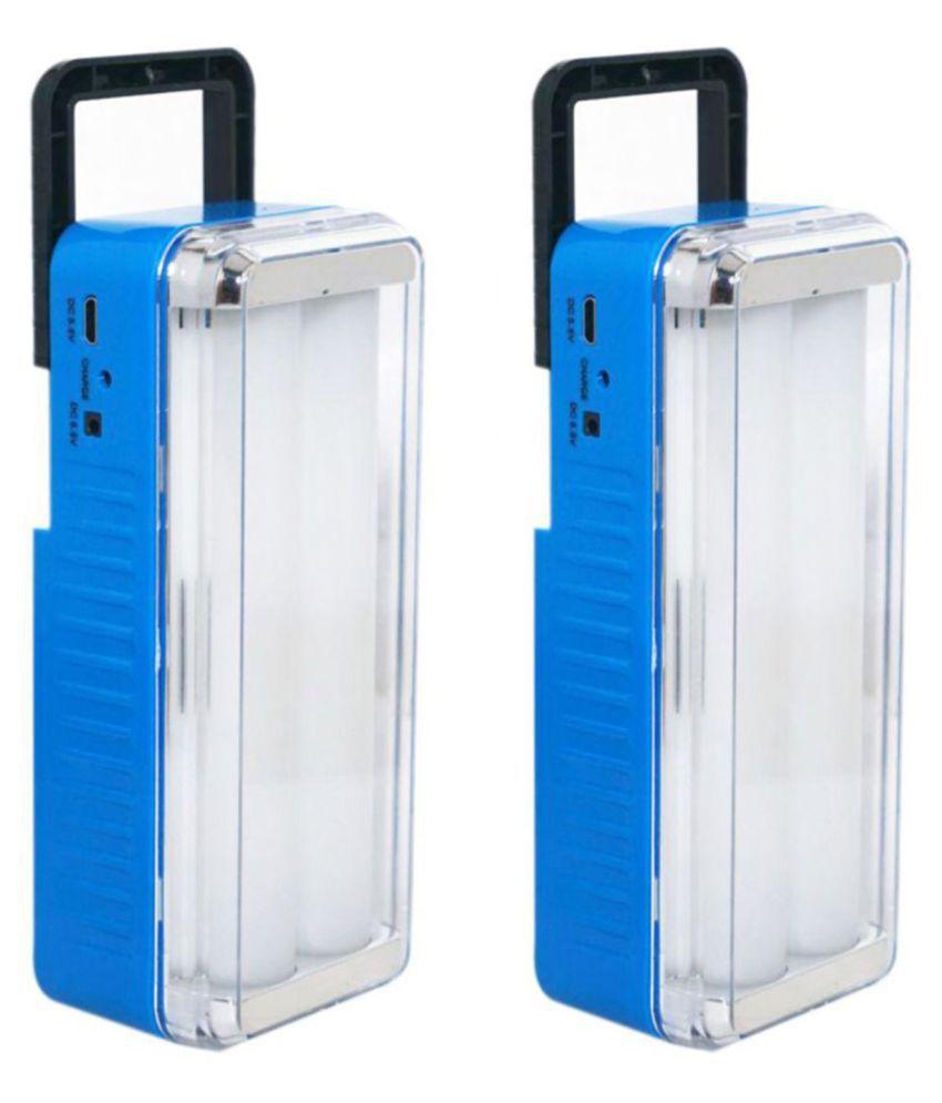 X EON 10W Emergency Light SE OlitRock l112 G4 Blue   Pack of 2