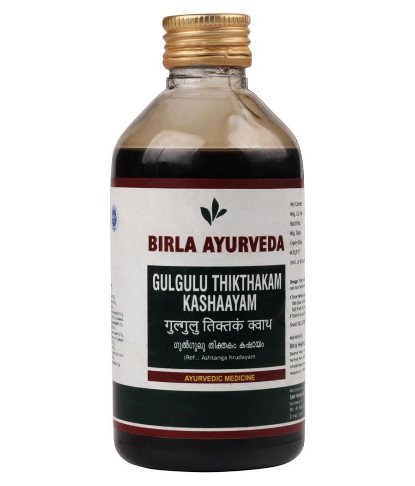 Birla Ayurveda Gulguluthiktham Kashayam Liquid 200 ml Pack Of 1