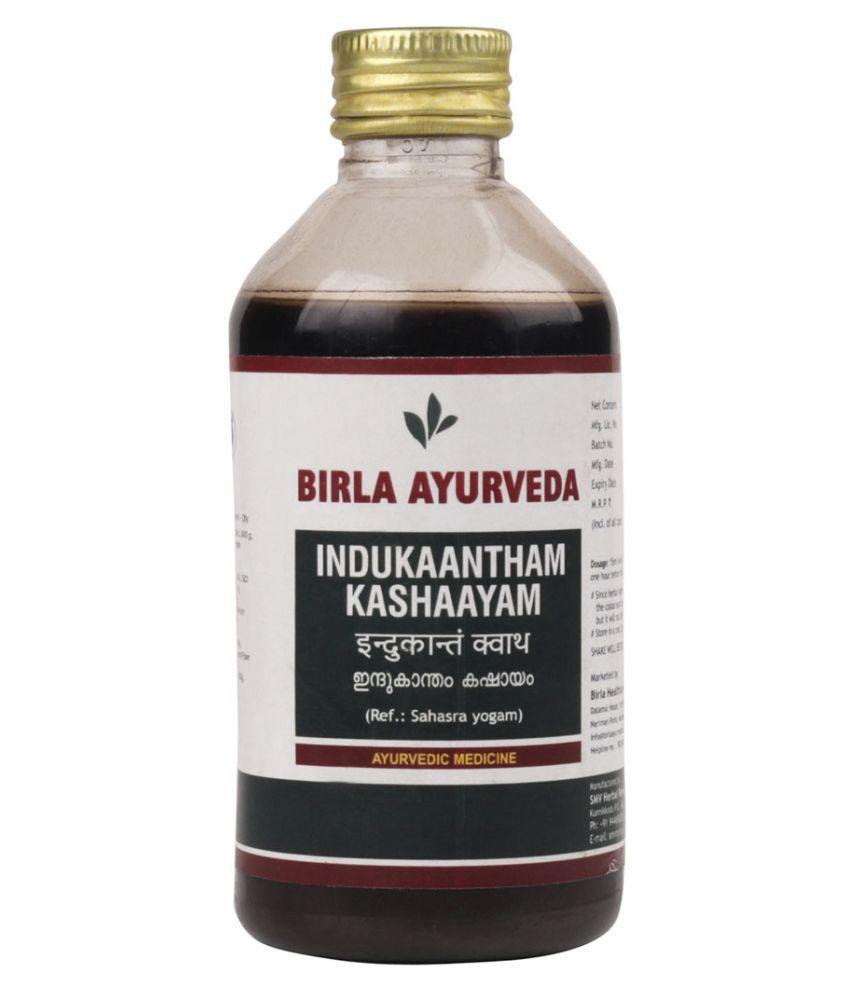 Birla Ayurveda Indukantam Kashayam Liquid 200 ml Pack Of 1