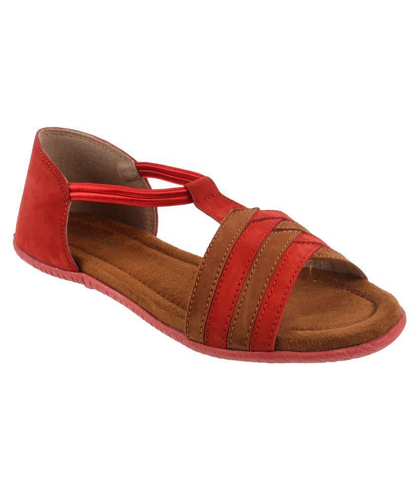 Mochi RED Flats
