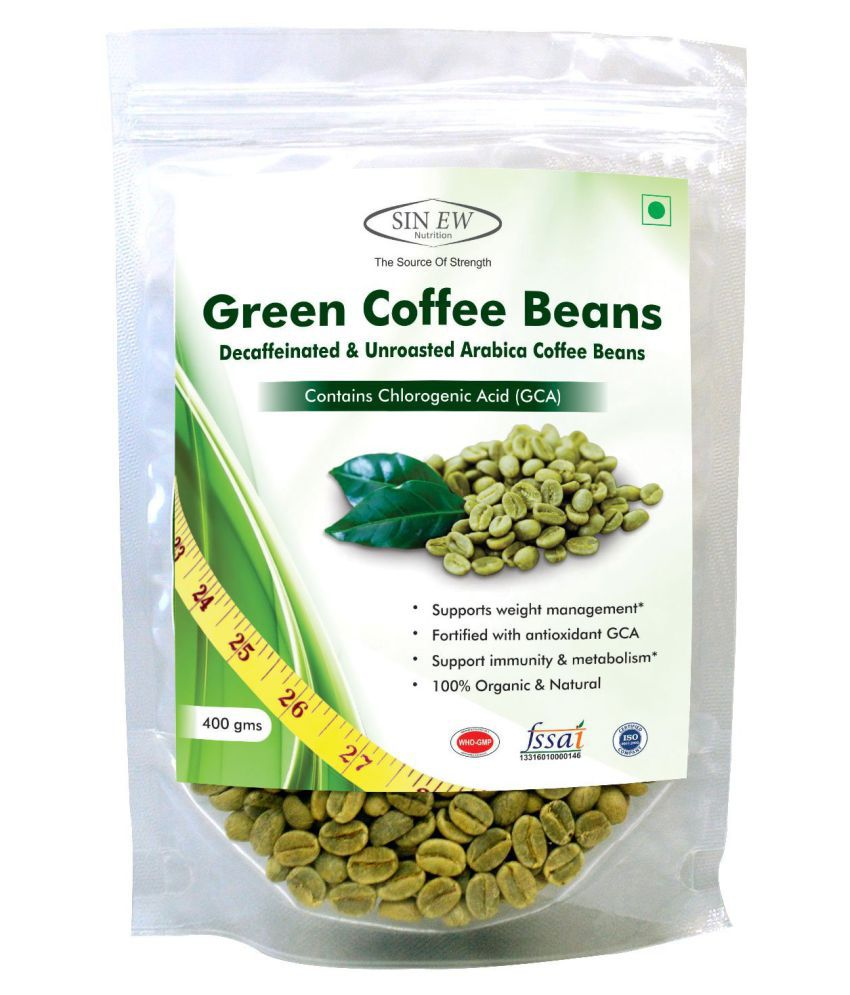 Sinew Nutrition Green Coffee Beans 400 gm Natural