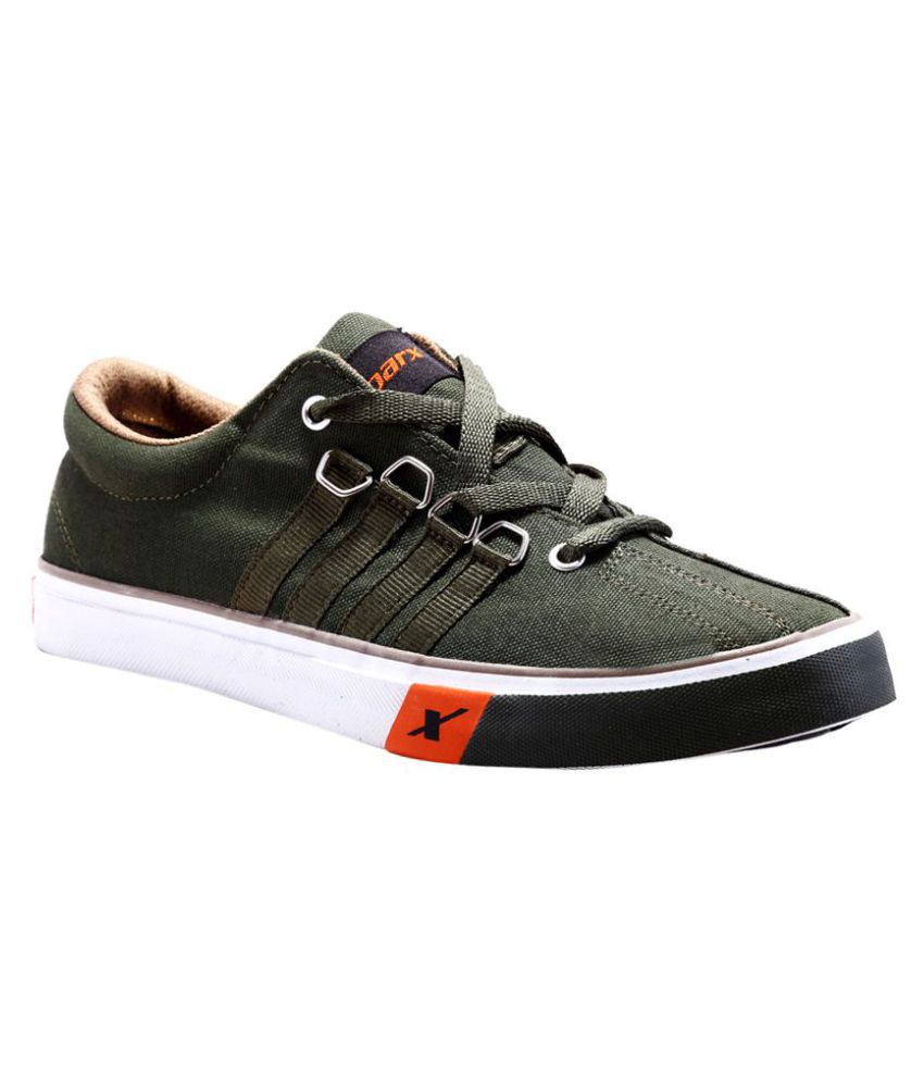 Sparx Sneakers Green Casual Shoes - Buy