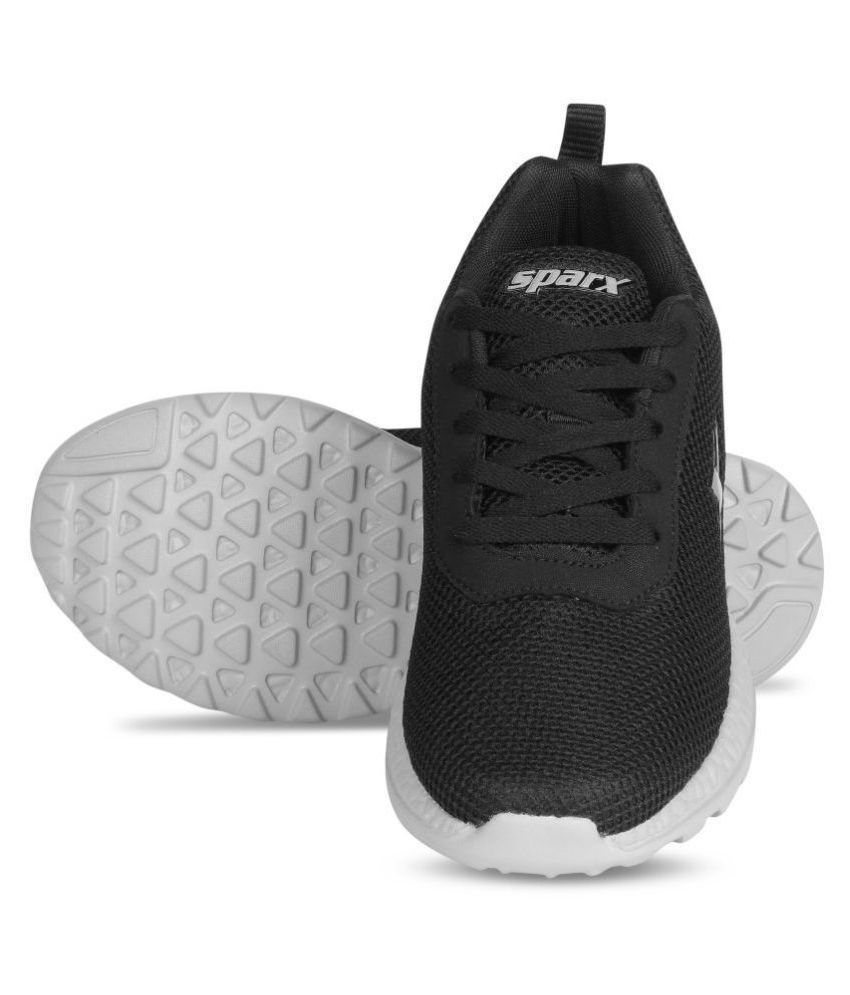 Sparx Men SM-414 Black Running Shoes