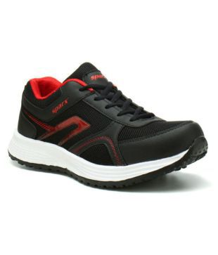 Sparx SM-511 Black Running Shoes - Buy