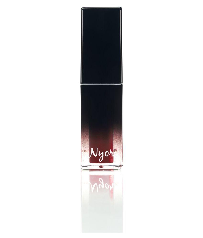 NYOR Spotlight Lip Plumper Cream Deep Maroon