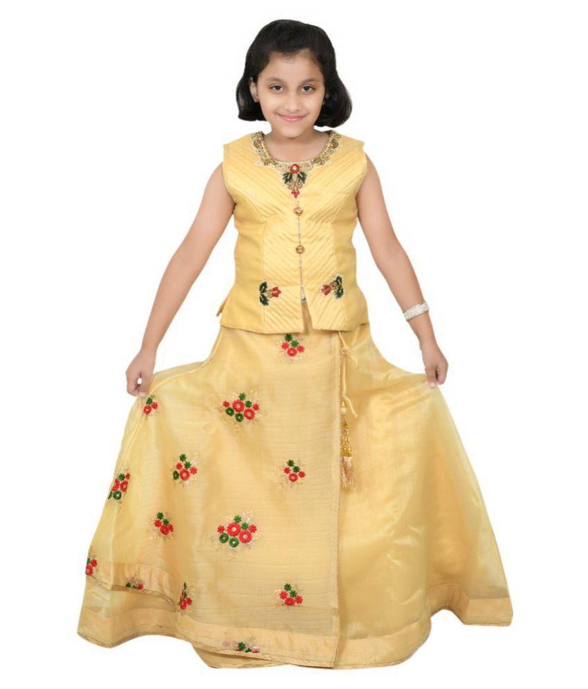 Rider Wear Ethnic Fancy Gowns Dress For Girls