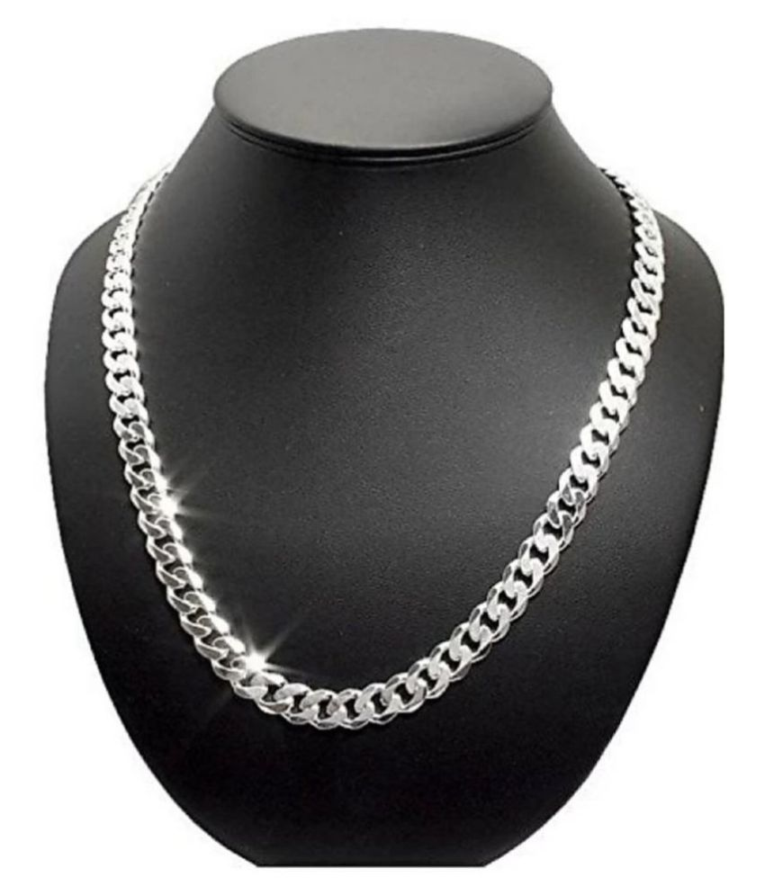 Stainless Steel Thick Chain / Locket Jewellery / Ball Chain Sterling Silver Plated Steel Chain