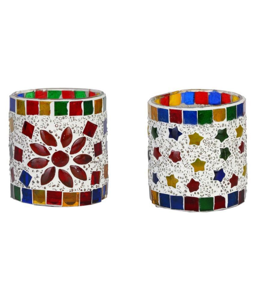 AFAST Multicolour Votive Candle - Pack of 2
