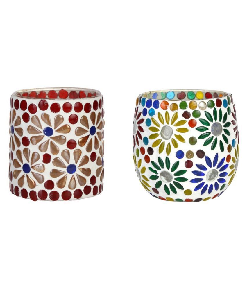 AFAST White Votive Candle - Pack of 2