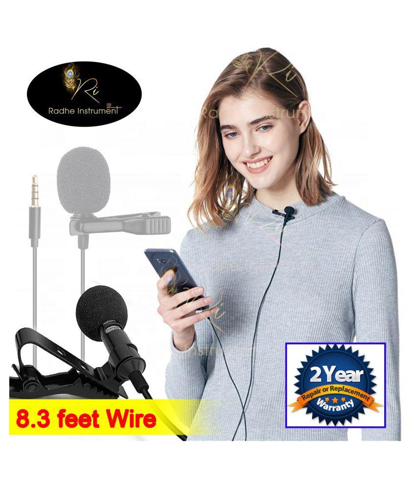 Radhe Instrument COLLAR MICROPHONE Lapel Microphone