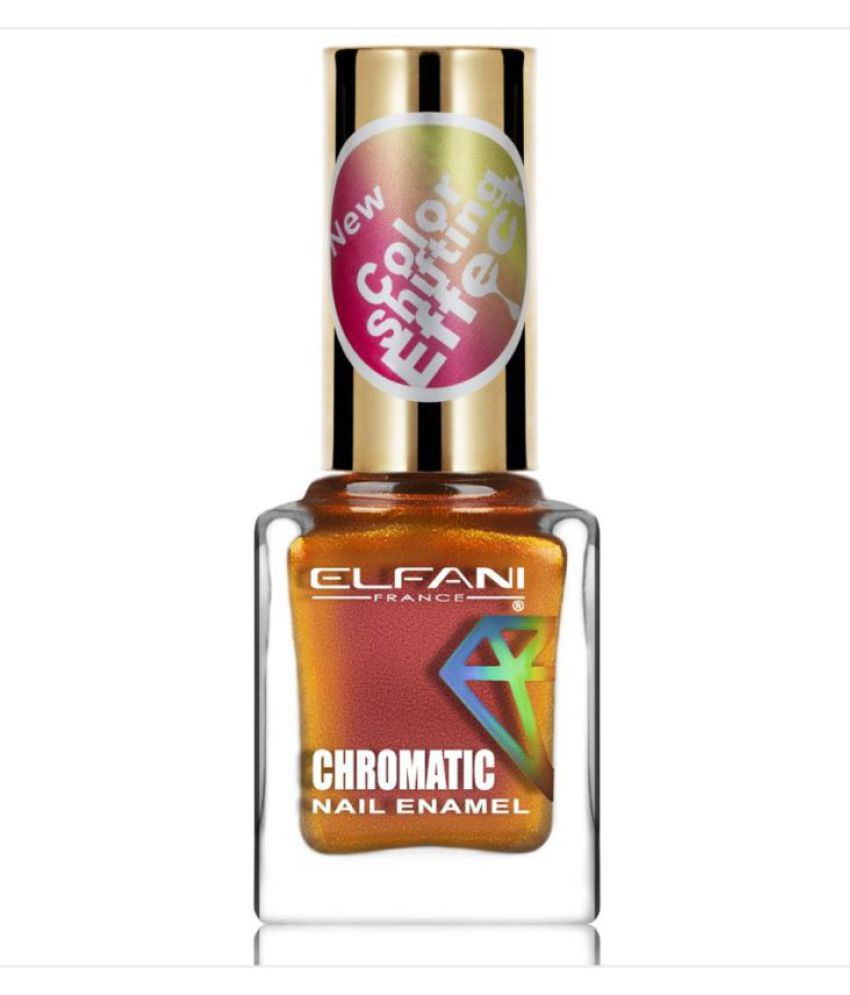 Elfani Nail Polish Pink Multichrome 9 mL