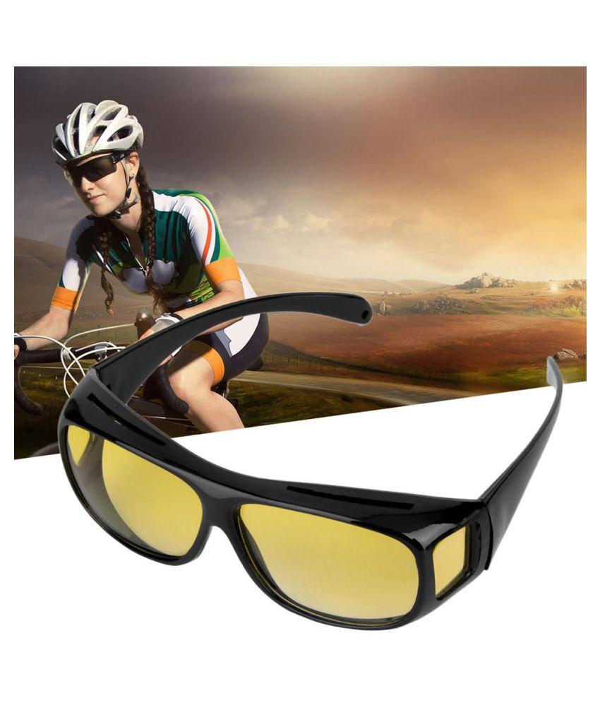 Men Night Driving Glasses Anti Glare Vision Driver Safety UV400 Protect Goggles