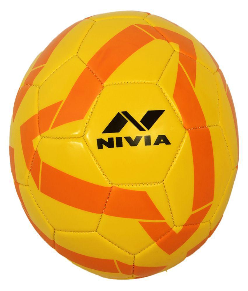 Nivia Sports Multi Color Football Size  5