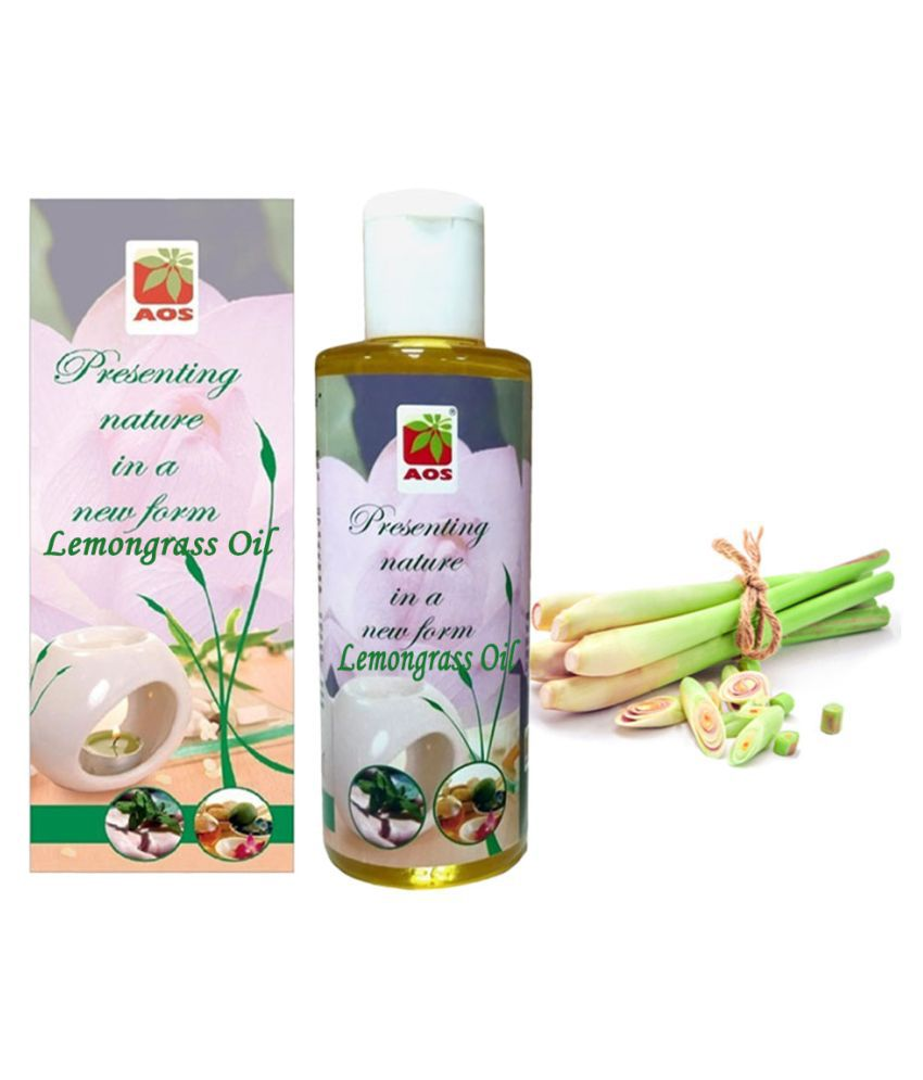 AOS Product 100% Pure Lemongrass Essential Oil 30 mL