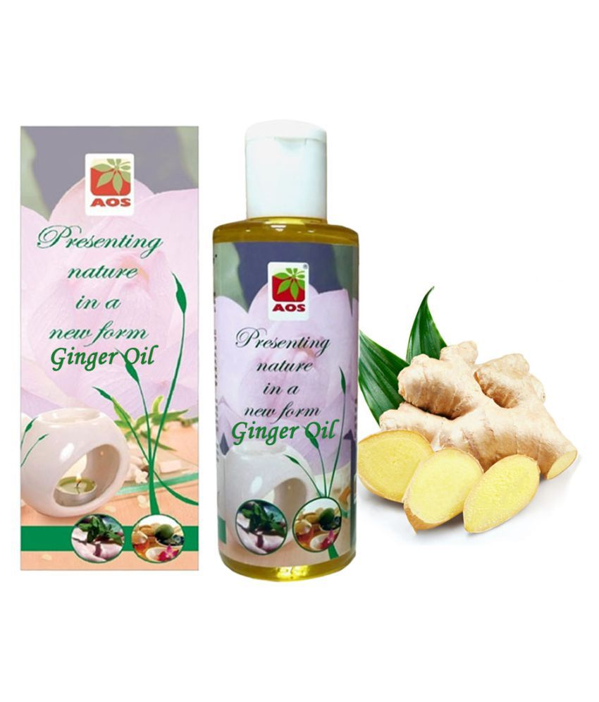 AOS Products 100% Pure Ginger Essential Oil 30 mL