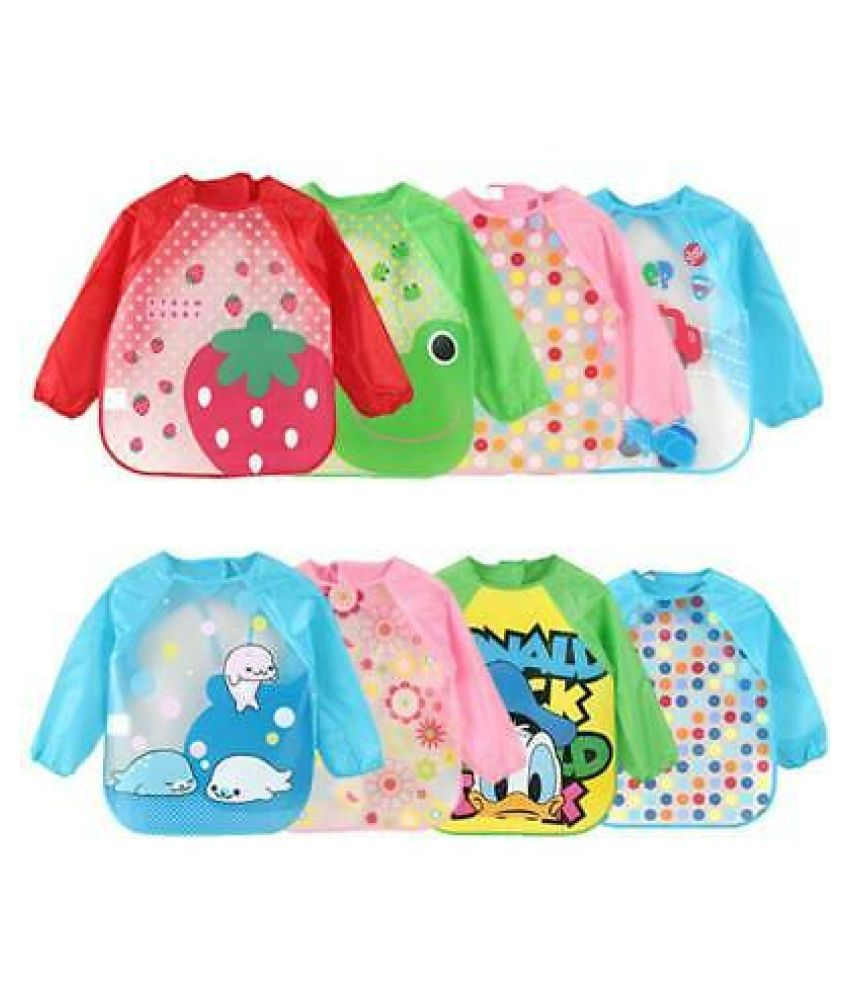 CHILD CHIC Assorted PVC Bibs - Set of 3