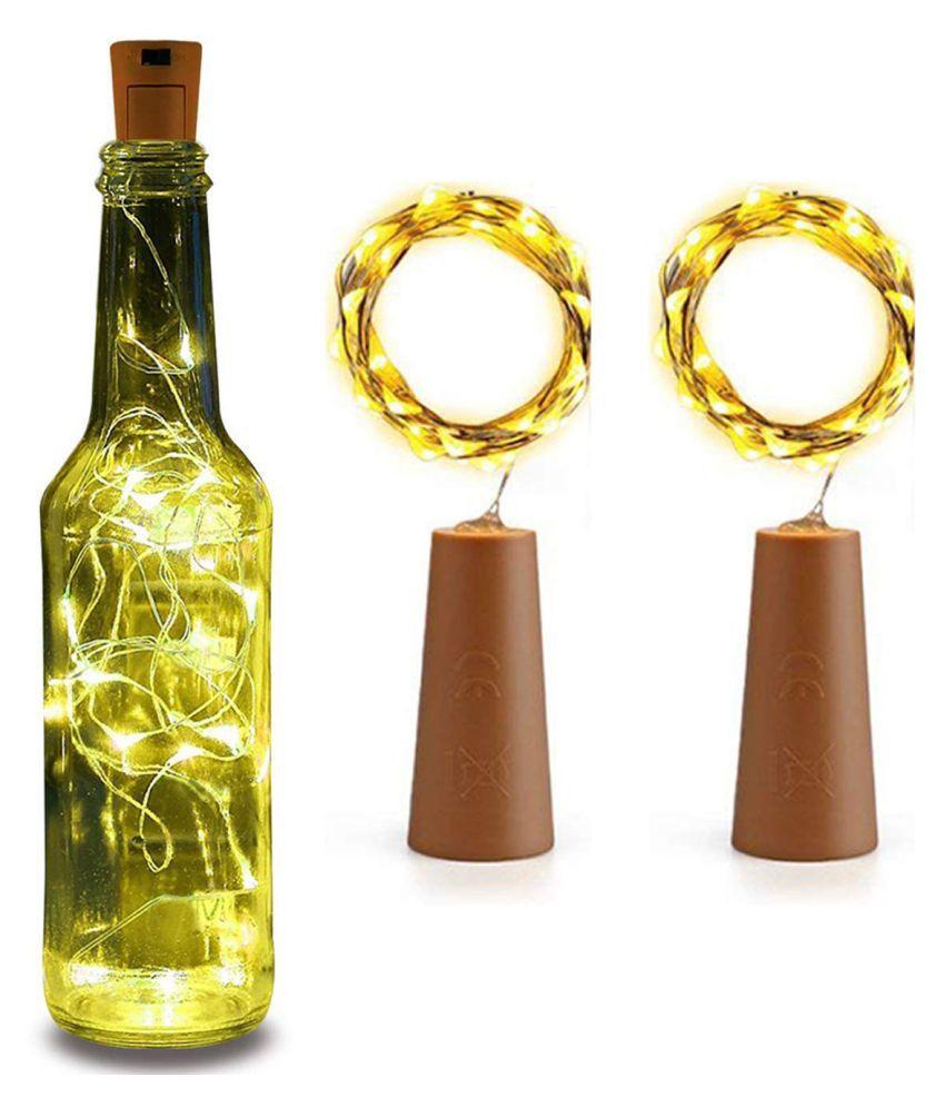TANZILIGHT 20 LED Wine Bottle Cork Light String Lights