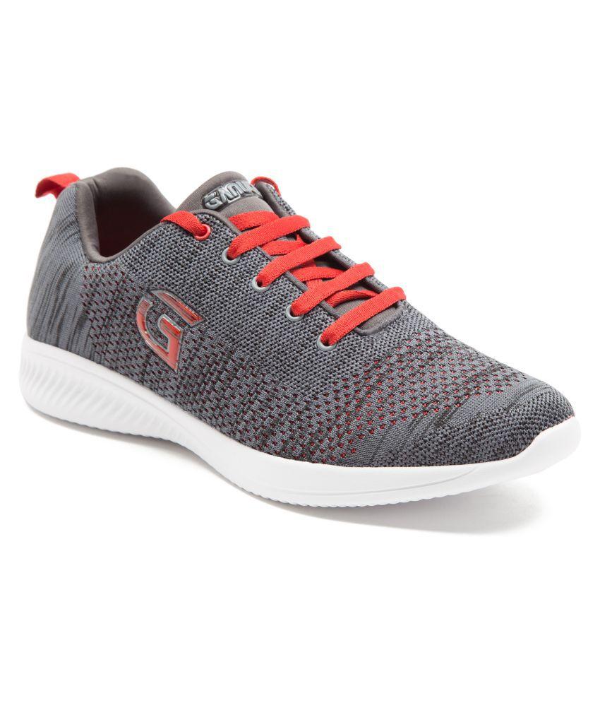 Ganuchi Gray Running Shoes