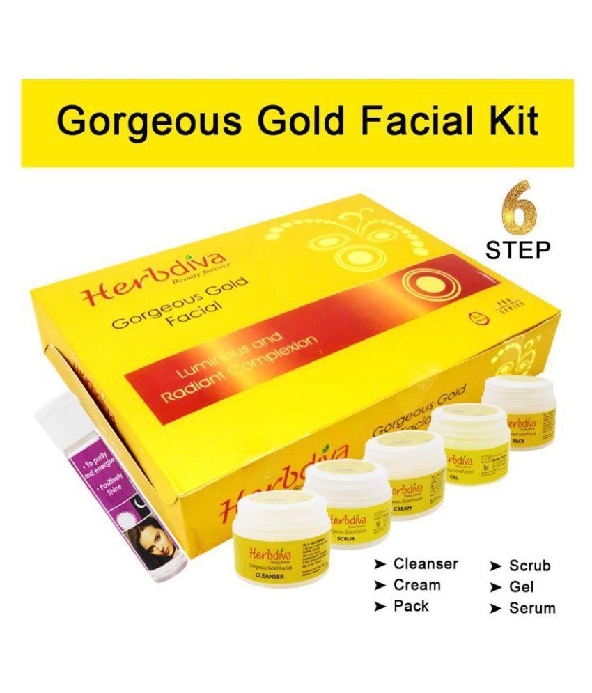 Herbdiva Gorgeous Gold Facial Kit 270 g
